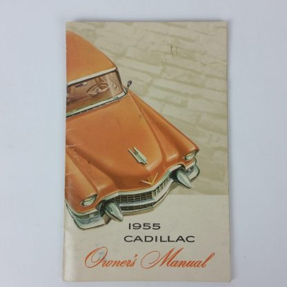 1955 Cadillac Owners Manual