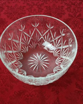 Tiffany Sybil Cut Crystal Bowl