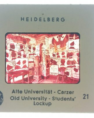 Vtg Heidelberg University Campus Germany 1960s Ektachrome 35mm Slide