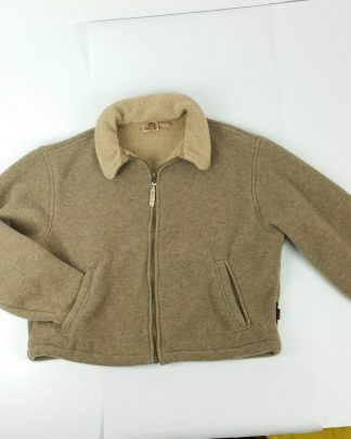 Woolrich Vintage Brown Fleece Jacket