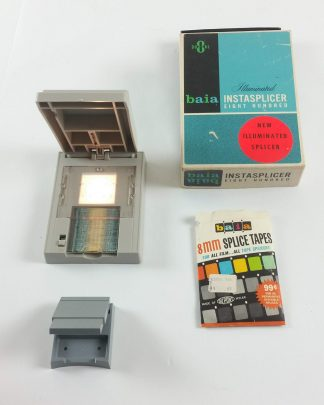 Two Film Splicers - Baia Dual 8 Instasplicer 800 Illuminated and 400 Manual Film Splicers