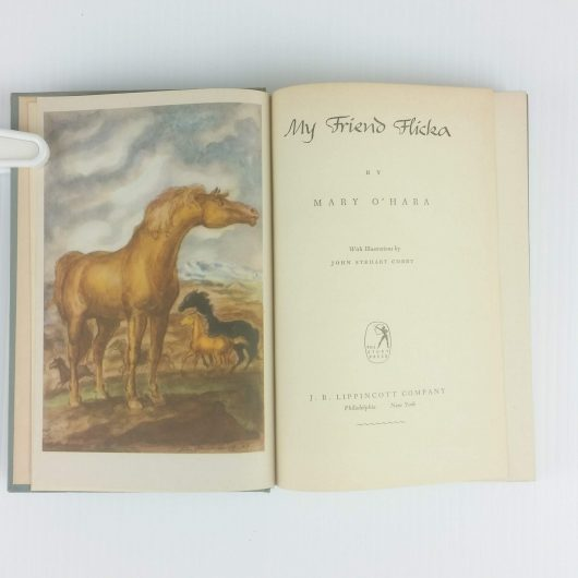 My Friend Flicka 1st First Edition Mary O'HARA 1941 Classic Literature