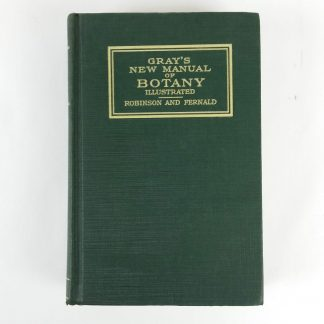 Grays New Manual of Botany 7th Edition CR 1908 Illustrated Antique Book