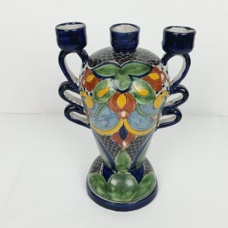 Talavera La Corona Vase Candle Holder
