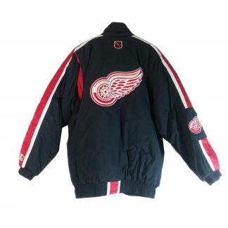 Vintage Detroit Red Wings Starter Full Zip Pullover Puffer Jacket