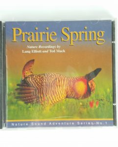 Prairie Spring Elliott Mack CD Nature Recordings Sound Adventure Series 1 SEALED
